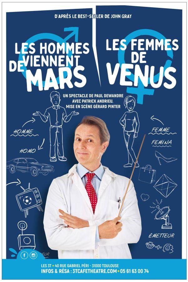 Les Hommes viennent de Mars, les femmes de Vénus - Spécial 31 décembre 2021